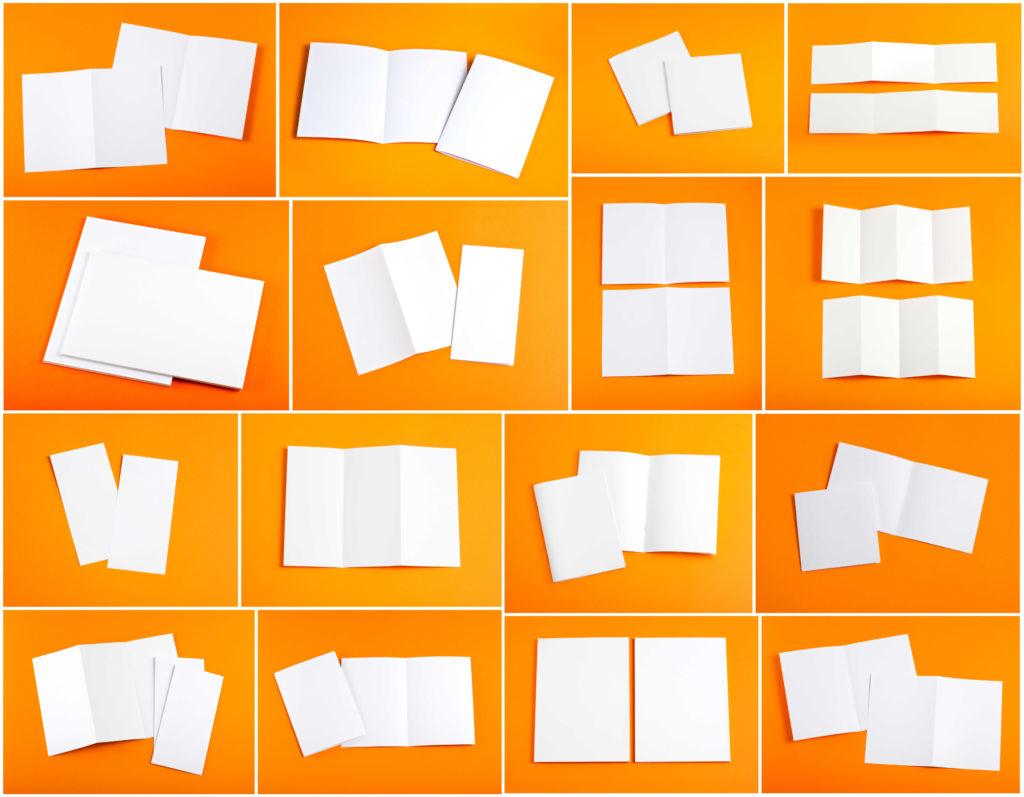 Druk ulotek składanych, foldery składane, ulotki składane